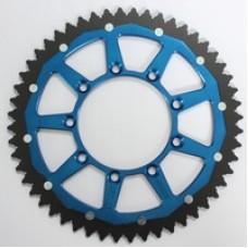 Dual Achtertandwiel TM Blauw 50t